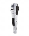 Blaklader 1910 Painter Trouser With Stretch (White/Black)